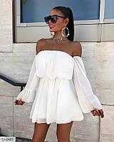 Платье шифоновое летнее стильное молодежное модное женское