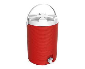 Термос диспенсер для разлива напитков 11 л красный Kale Mazhura MZ-1011-RED