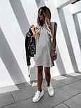 Женское платье-футболка летнее Оверсайз, фото 4