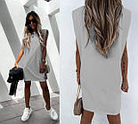 Жіноче плаття-футболка літній Оверсайз, фото 5