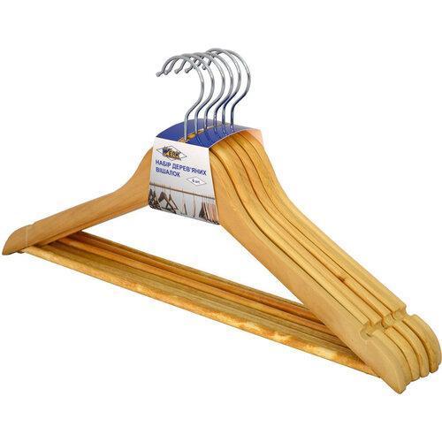 Набор деревянных вешалок Werk WH-01N6 6 шт бежевый