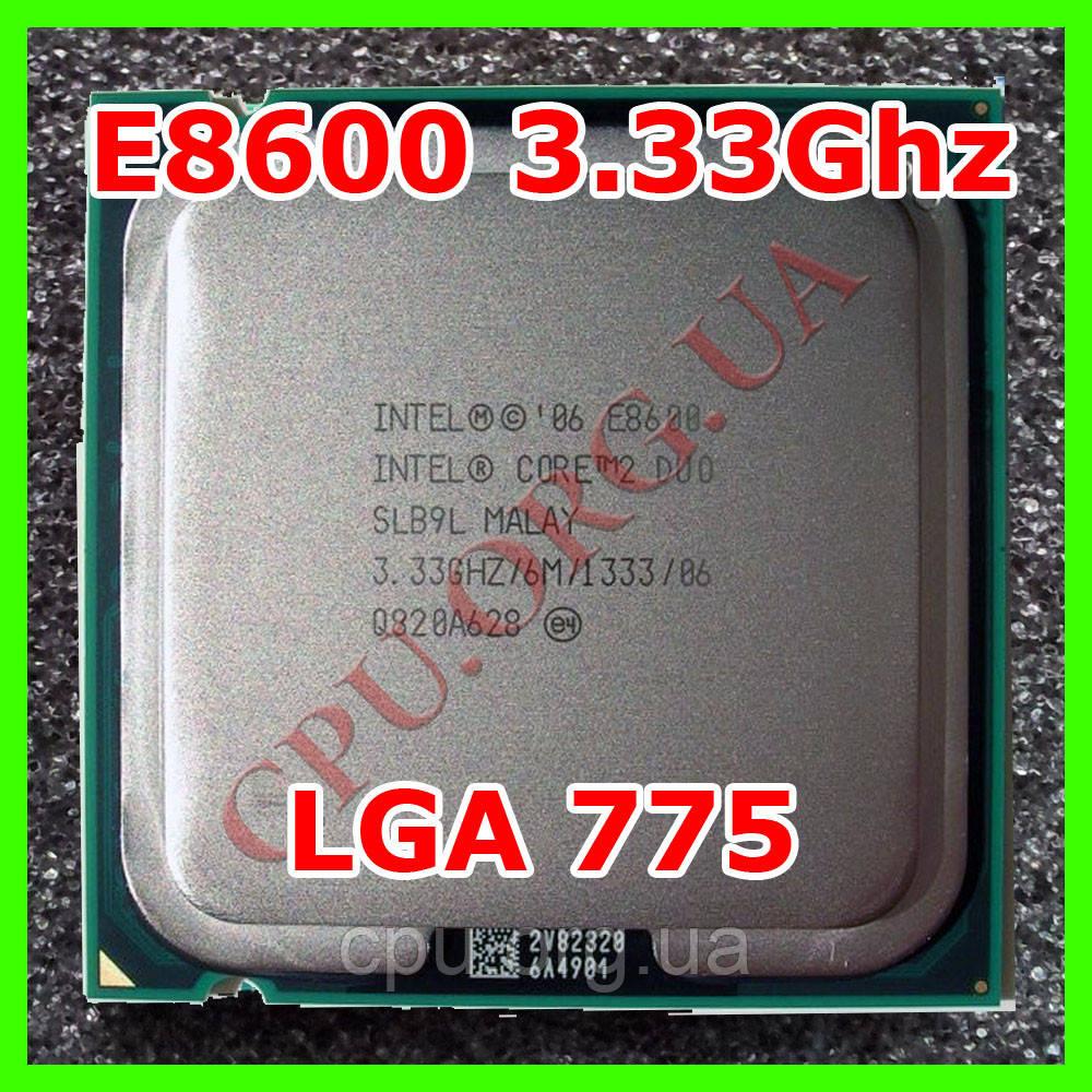 Intel Core 2 Duo E8600 3.33GHz/6M/1333 Socket 775