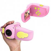 Детская видеокамера Smart Kids Video Camera HD Розовый TK00019