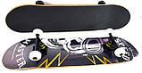 """Скейт дерев'яний для трюків Скейтборд """"Череп Флеш"""" , натуральний канадський клен, дека 79х20 супер якість, фото 2"""