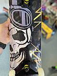 """Скейт дерев'яний для трюків Скейтборд """"Череп Флеш"""" , натуральний канадський клен, дека 79х20 супер якість, фото 7"""