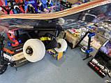 """Скейт дерев'яний для трюків Скейтборд """"Череп Флеш"""" , натуральний канадський клен, дека 79х20 супер якість, фото 8"""