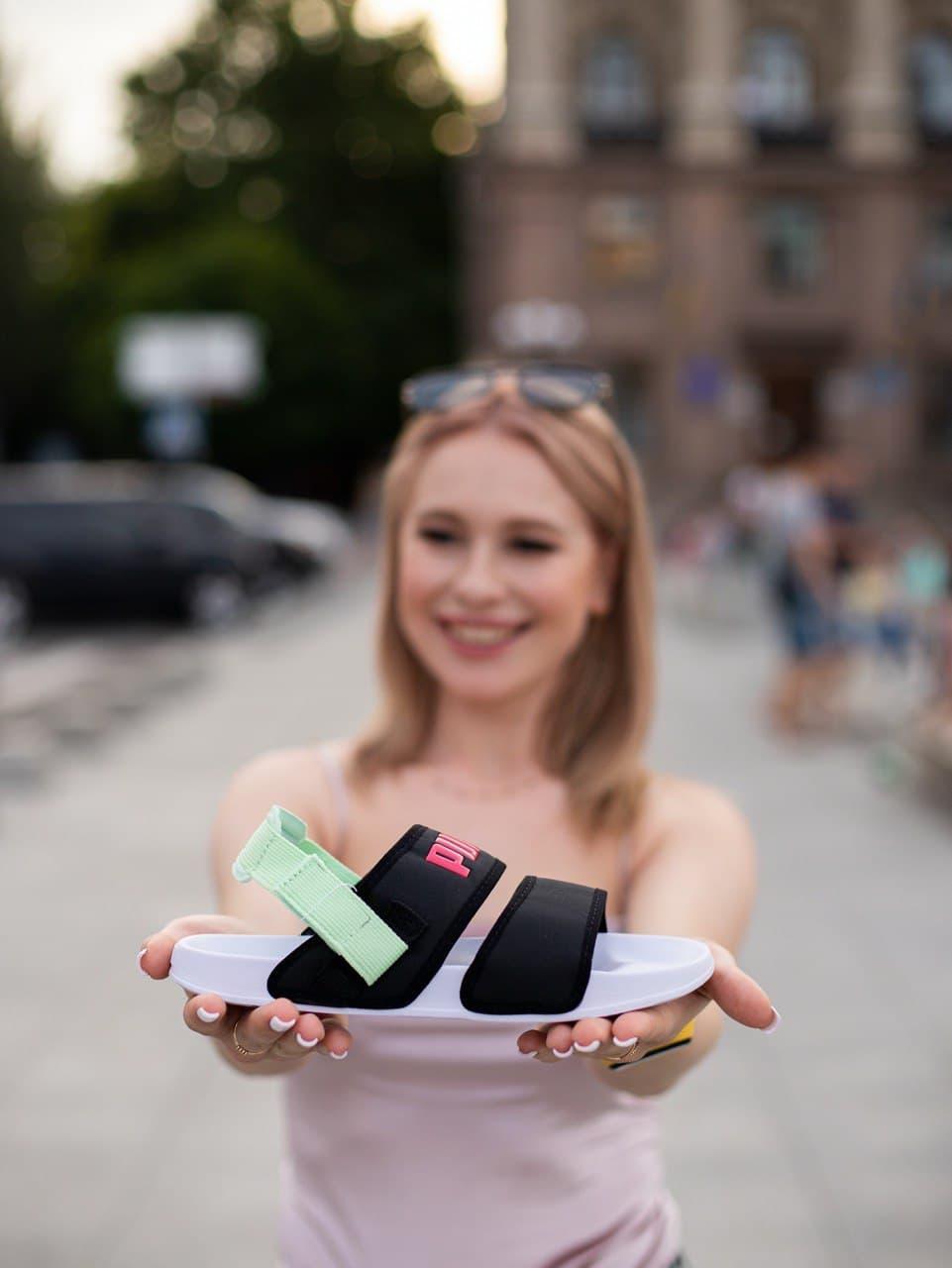 Женские сандалии Puma x Hyuna Leadcat YLM Lite Sandal Multicolor