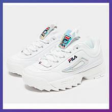 Кросівки для підлітків Fila Disruptor II Junior Original білий колір. Філа Оригінал 35 розмір