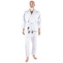 Кимоно дзюдо Combat Sports белое 16oz рост 160см SKL11-282135