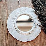 Шнур хлопковый Макраме 5мм Белый, фото 3