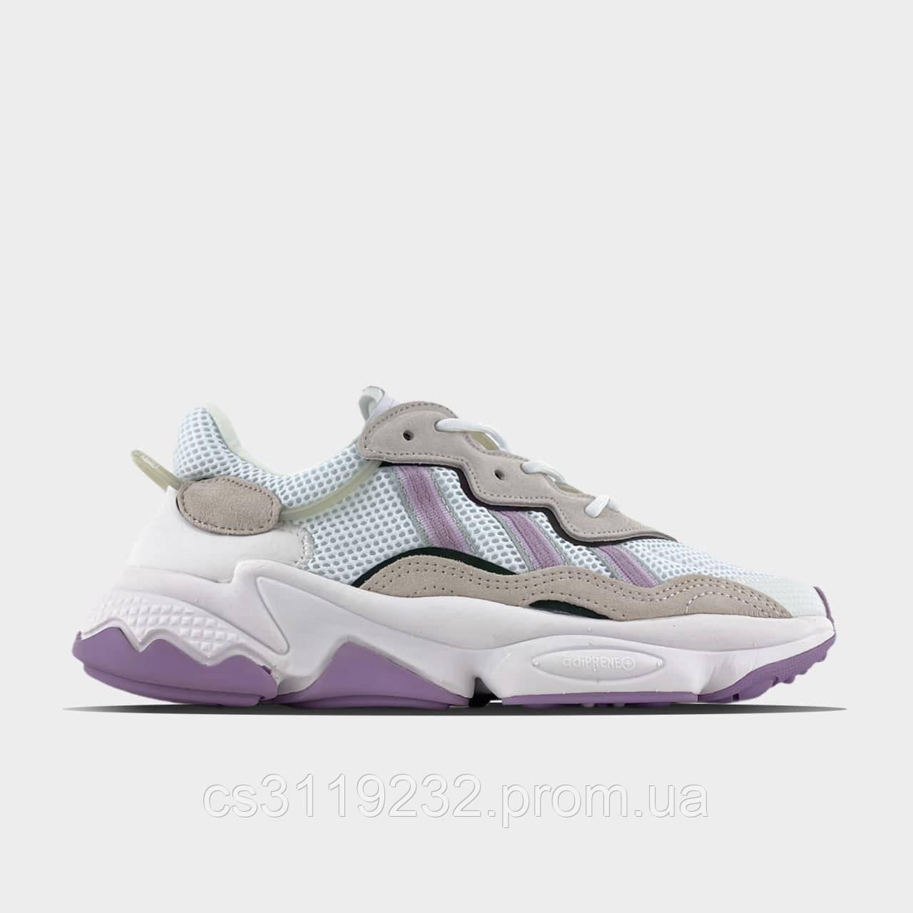 Кросівки жіночі Adidas Ozweego Violet White (Бузковий) Адідас Озвего