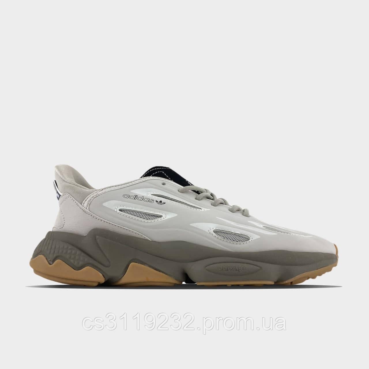Мужские кроссовки Adidas Ozweego Gray (серые)