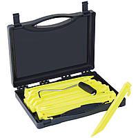 Колышки Outwell Guyline Peg Box 22 см 14 шт. Luminous Green (650775)