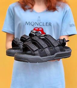 "Женские босоножки New Balance Sandals ""Black"" Reflective"
