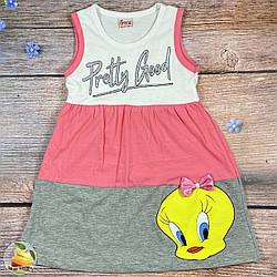 Дитяче плаття на літо Розмір: 104,110,116,122,128 см (01840-1)