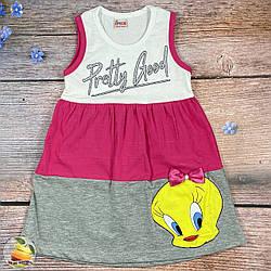 Дитяче плаття без рукавів Розмір: 104,110,116,122,128 см (01840-2)