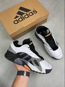 Мужские кроссовки Adidas Streetball Белый с черным