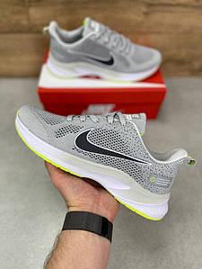 Мужские спортивные кроссовки Air Zoom Grey