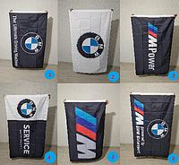 Флаги с логотипом BMW. Флаги БМВ. Флаги с символикой BMW. Видео!