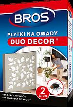 Плитка от насекомых (мух, комаров, моли, мошек) 2 шт. DUO-DECOR, Bros