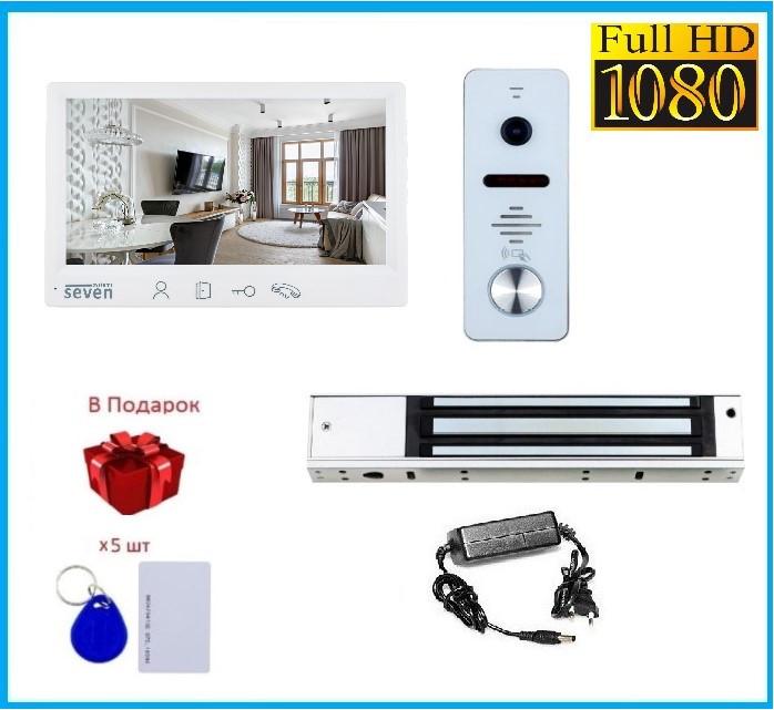 Комплект контроля доступа с магнитным замком и домофоном в офис SEVEN KD-7820