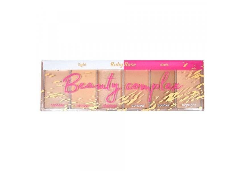 Хайлайтеры Light & Dark Beauty Complex Ruby Rose HB-7518