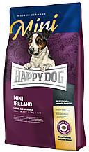 Сухой корм Happy Dog MINI Ireland с лососем и кроликом для собак малых пород 4 кг