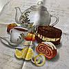 Рушник бавовна з чайником, чашкою та лимоном, 45х70 см