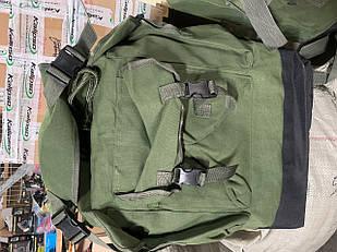 Рюкзак туристический зелёный 80 литров