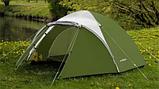 Походная палатка двухлойная для отдыха на природе 3-х месная Presto Acamper ACCO 3 PRO зеленая - 3000мм, фото 7