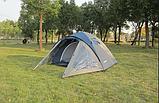 Походная палатка двухлойная для отдыха на природе 3-х месная Presto Acamper ACCO 3 PRO зеленая - 3000мм, фото 8