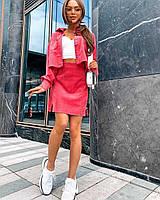 """Костюм двійка жіночий молодіжний Піджак + Спідниця, розмір 42-46 (5кол) """"NICOLE"""" недорого від прямого постачальника"""