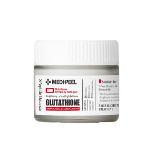Осветляющий крем с глутатионом Medi-Peel Bio Intense Glutathione White Cream 50ml