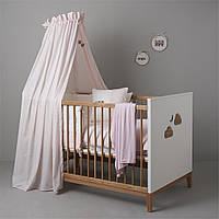 Балдахин на кроватку BEAR3 170*148 розовый