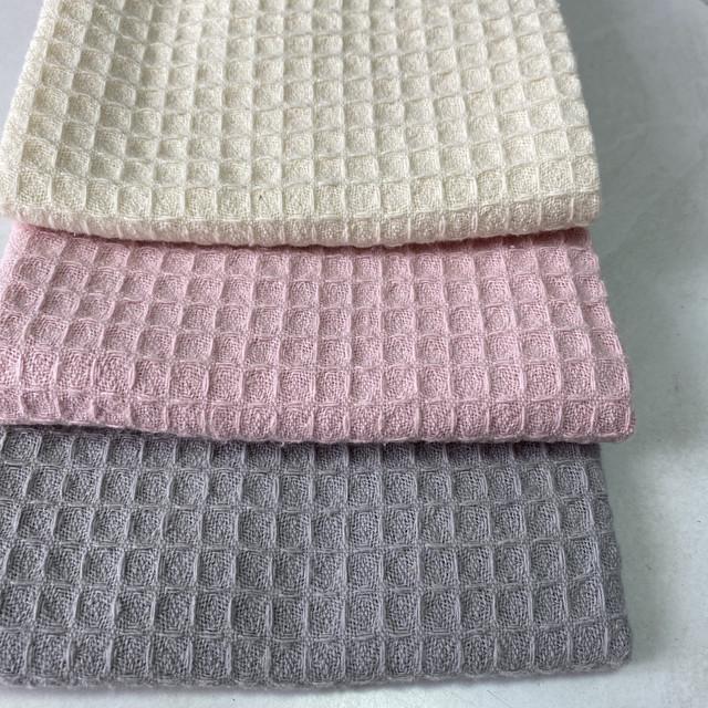 Готовые хлопковые полотенца