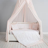 Балдахин для ліжка принцесы SWAN 220*142 розовый