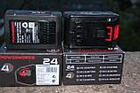 Акумулятор PowerWorks P24B4 24 V  / GreenWorks G24B4 24 V 4 А г, фото 3