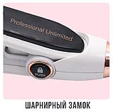 Утюжок для волос Lexical LHS-5304 белый (керамика, 82Вт) | выравниватель, выпрямитель, утюжок для выпрямления, фото 9