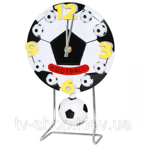 Часы настольные с маятником Футбол