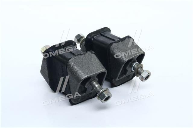 К-т кріплення опори двигуна ГАЗ 3309,33104,ГАЗЕЛЬ передній (2 подушки+кріплення) 3309-1001020