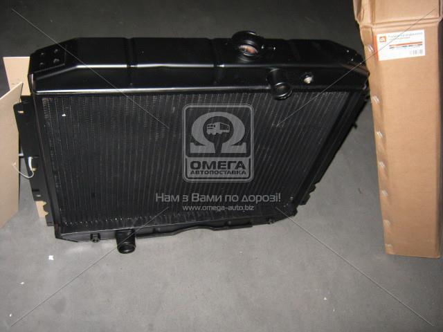 Радіатор водяного охолодження ГАЗ 3307 (3-х рядний ) мідний (Дорожня Карта) 3307-1301010-70С