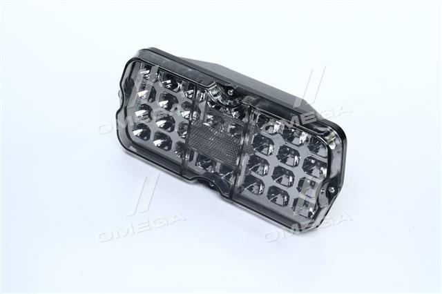 Фонарь УАЗ задний LED 12В (белое стекло) (Дорожная Карта)  71.3716010/11-01