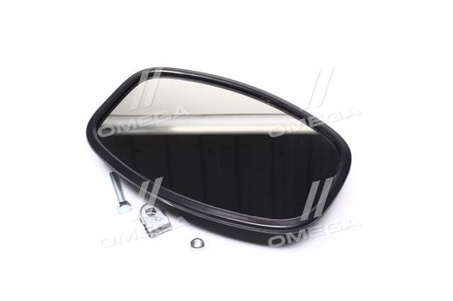 Зеркало боковое УАЗ 452 (250х160, плоское в пластиковом корпусе)