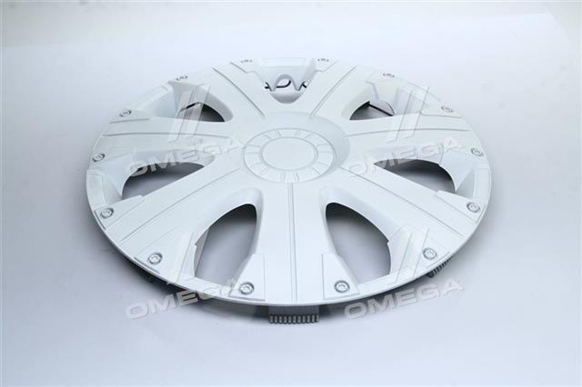 Колпак колесный R15 ULTRA белый 1шт. (Дорожная Карта)  DK-R15UW