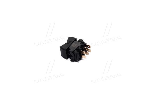 Выключатель панели Богдан вентилятора отопителя клавишный (Дорожная Карта)  3842.3710-10.15DK