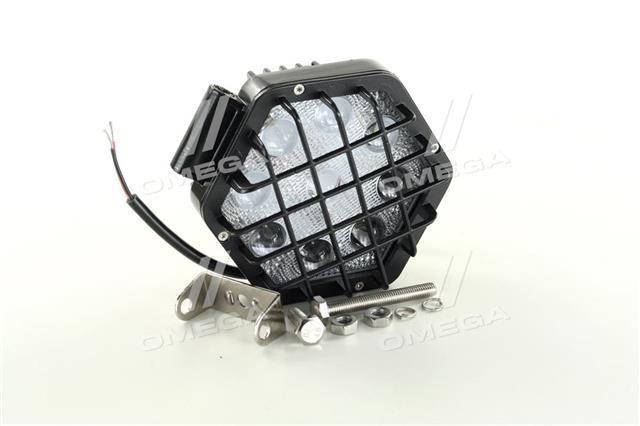 Фара LED шестикутна 27W, 9 ламп, вузький промінь DK B2 - 27W-G