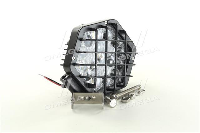 Фара LED шестикутна 48W, 16 ламп, вузький промінь DK B2 - 48W-G