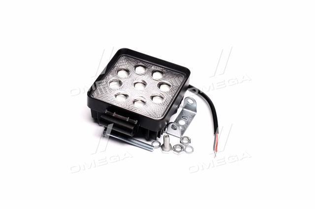 Фара LED квадратная 27W, 9 ламп,  5D