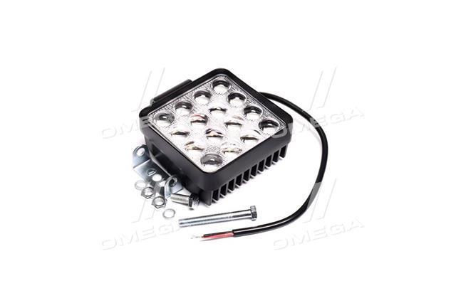 Фара LED квадратна 48W, 16 ламп, 5D
