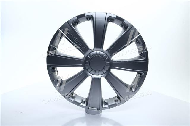 Колпак колесный R13 RST серый 1шт. (Дорожная Карта)  DK-R13RS